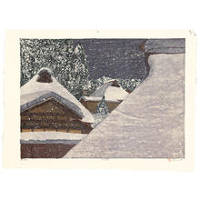 Rome Joshua: Snowy Night - Japanese Art Open Database
