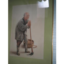 Saito Hodo: Old man - Japanese Art Open Database