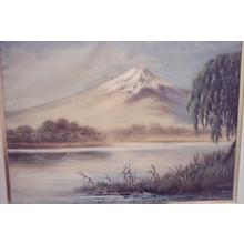 Saito Hodo: View of Lake and Mt Fuji - Japanese Art Open Database