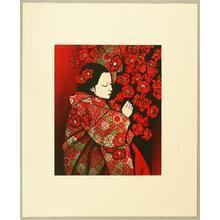 Saito Kaoru: Camellia - Japanese Art Open Database