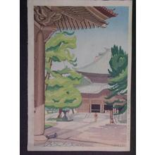 Sekido, Isaburo: Kenchiji Temple in Kamakura - Japanese Art Open Database