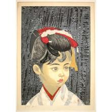 Sekino Junichiro: A Young Visitor - Japanese Art Open Database