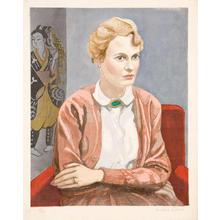 Sekino Junichiro: Portrait of Inge Bilsinger - Japanese Art Open Database