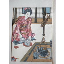 Sekino Junichiro: At the Fireplace Edge in the North East — 東北のゐろり端 - Japanese Art Open Database