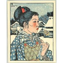 Sekino Junichiro: Hair Ring — 輪髪 - Japanese Art Open Database