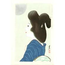 Sengai Igawa: August- Moon — Hachi-gatsu: Tsuki - Japanese Art Open Database