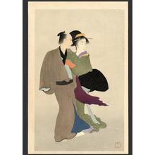 Settai Komura: Portrait of Osan and Mohei - Japanese Art Open Database