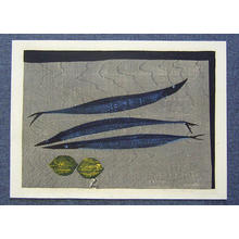 Shima Tamami — 島 珠実: Fish and Lemons — サンマとレモン - Japanese Art Open Database