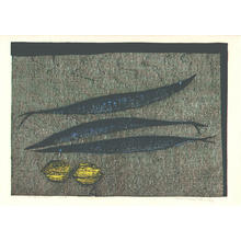 Shima Tamami — 島 珠実: Fish and Lemons — サンマとレモン - Japanese Art Open Database