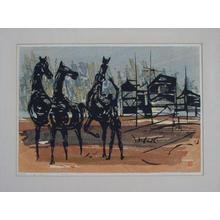 Shima Tamami — 島 珠実: Playing with Horses - Japanese Art Open Database