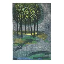 Shima Tamami — 島 珠実: Woods In Sorrow - Japanese Art Open Database