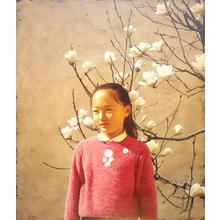 Shimizu Etsuo: Lily magnolia — 木蓮 - Japanese Art Open Database