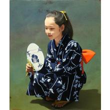 Shimizu Etsuo: Summer Festival — 夏祭り - Japanese Art Open Database