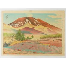 Ito Shinsui: Spring at the Foot of Mt Asama — 浅間山麓の春 - Japanese Art Open Database