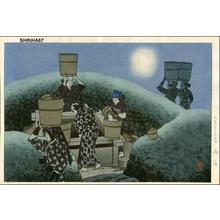 Ito Shinsui: After the Rain - Japanese Art Open Database
