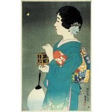 Ito Shinsui: Catching fireflies — Hotaru-gari - Japanese Art Open Database
