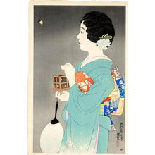 Ito Shinsui: Catching fireflies — Hotaru-gari - Japanese Art Open Database