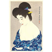 Ito Shinsui: New Yukata - Japanese Art Open Database