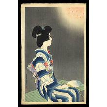 伊東深水: Fireworks - Japanese Art Open Database