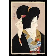 伊東深水: Pupil of the Eye - Japanese Art Open Database