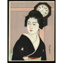 Ito Shinsui: Bonbon Clock - Japanese Art Open Database