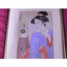 Ito Shinsui: Clock - Japanese Art Open Database