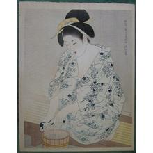 Ito Shinsui: A Woman after the Bath - Japanese Art Open Database