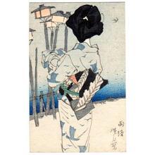 伊東深水: After Rain — 雨後 - Japanese Art Open Database