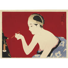 Ito Shinsui: Eyebrow Pencil - Japanese Art Open Database