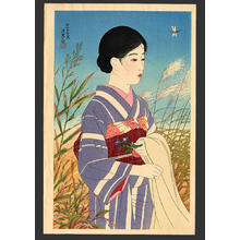Ito Shinsui: Fine weather in autumn - Japanese Art Open Database