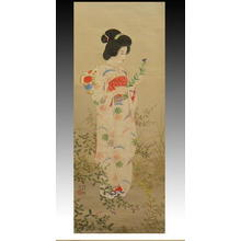 Ito Shinsui: Garden of One Thousand Chrysanthemum — 千菊の庭 - Japanese Art Open Database