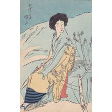 伊東深水: Haughty Voice — ひばりの声 - Japanese Art Open Database