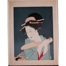 伊東深水: In early summer - Japanese Art Open Database