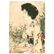 伊東深水: Lady in Summer - Japanese Art Open Database