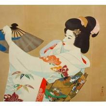 Ito Shinsui: Miyakodori- machine printed — 都鳥 - Japanese Art Open Database