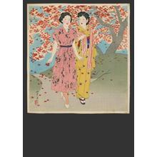 伊東深水: Moga girls - Japanese Art Open Database