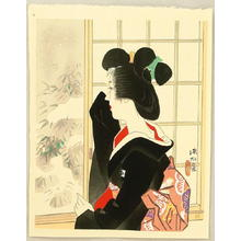Ito Shinsui: Snow — 雪 - Japanese Art Open Database