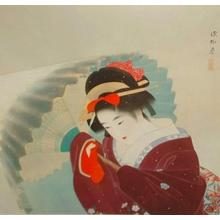 Ito Shinsui: Snow Storm- machine printed - Japanese Art Open Database