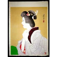 伊東深水: Spring — 春 - Japanese Art Open Database