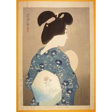 Ito Shinsui: Suzumi- Evening Cool — 涼み - Japanese Art Open Database