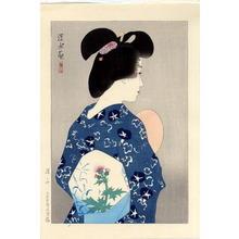 伊東深水: Suzumi- Evening Cool — 涼み - Japanese Art Open Database