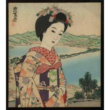 Ito Shinsui: Woodblock print on shikishi - Japanese Art Open Database