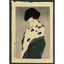 Ito Shinsui: Yuki Moyo- It Looks Like Snow - Japanese Art Open Database