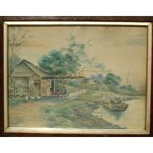 Shisen: Riverside Teahouse - Japanese Art Open Database