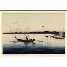 Shoson Ohara: Fishing Boats 1 - Japanese Art Open Database