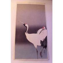 Shoson Ohara: Pair of Cranes - Japanese Art Open Database