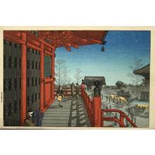 Shotei Takahashi: Asakusa Kannon Temple - Japanese Art Open Database