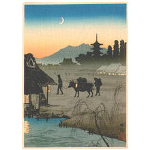 Shotei Takahashi: Coming Home - Kison - Japanese Art Open Database