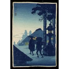Shotei Takahashi: Evening Silhouette - Japanese Art Open Database