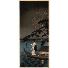 Shotei Takahashi: Fireworks, Shubinomatsu - Japanese Art Open Database